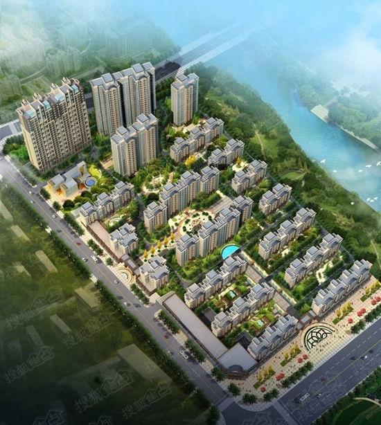 聚丰香树湾 :居未来核心  赏法式低密花园