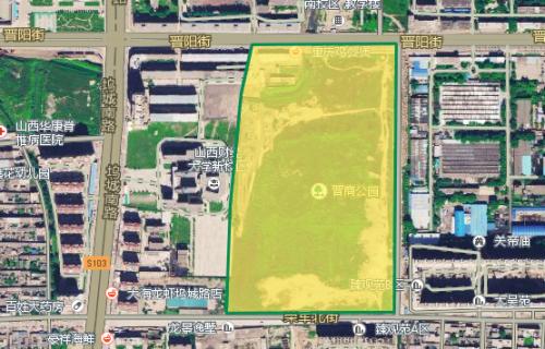 晋商公园用地规划调整 晋阳街崛起周边变公园房-海棠图片