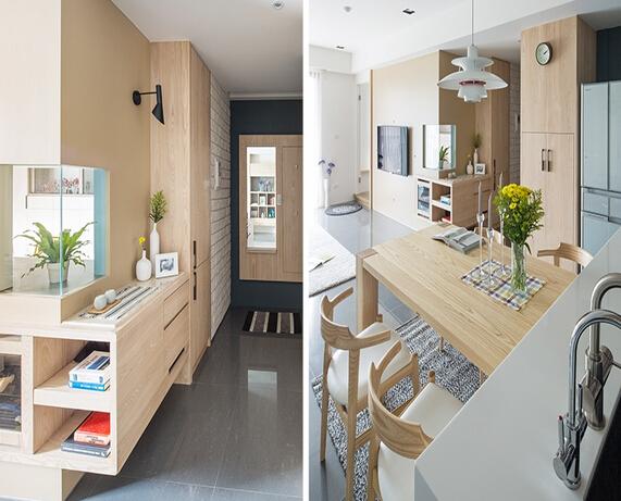 简约北欧风格小户型家居设计/组图