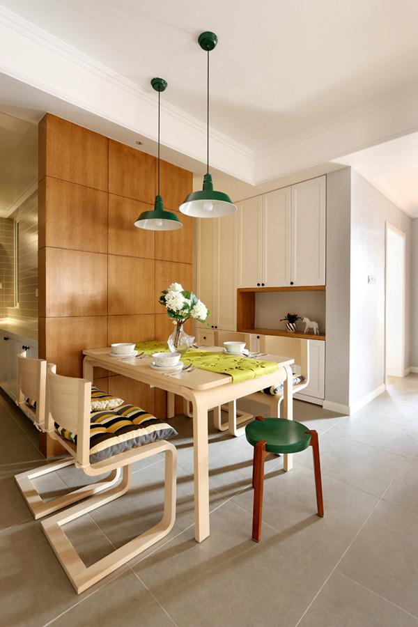 88平北欧风格两居室 经典小户型家装设计效果图高清图片