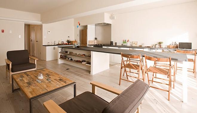 日本原木质朴约简约风开放式公寓图片