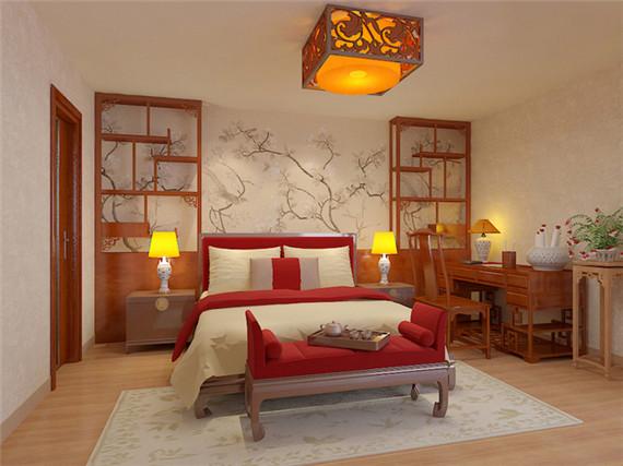 120平新中式优雅三居 富含中式家居 风格元素