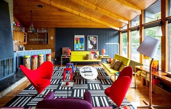 色彩缤纷 280平方米的花样美宅家居设计