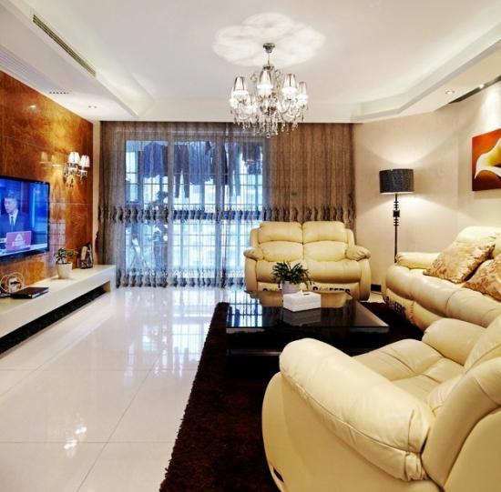 90平米三居室最省钱的装修方案 简约混搭风格