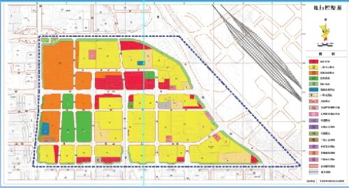 配合太原南站建设 该片区规划调整公示