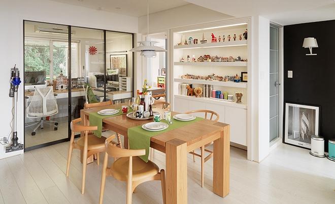 设计师的83平方米北欧风三居室四口之家