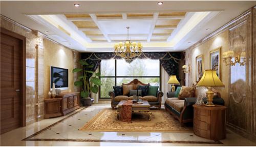 美式风格的新房家装设计赏析图片