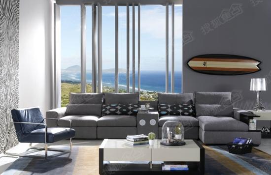 2015家具产品趋势前瞻 爱依瑞斯圣罗莎沙发高清图片