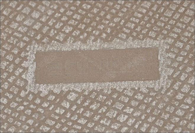 帝金黑石材-瓷砖的背面虽然不易被见到,但却是我们不容忽视的,瓷砖背面纹理对