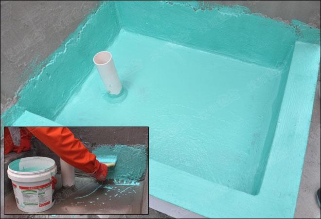 轻松解决防水难题 德高K11彩色防水浆料评测图片