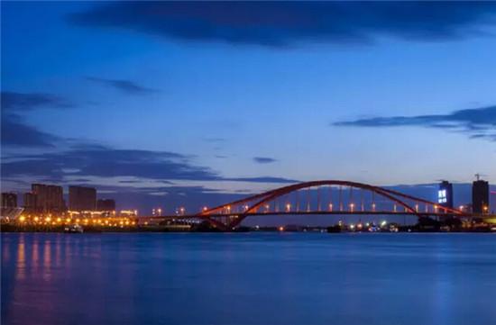 佛山东平大桥简笔画
