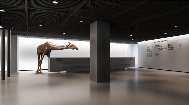 装修攻略 设计 文章    银川当代美术馆座落于黄河西岸,位于宁夏回族图片