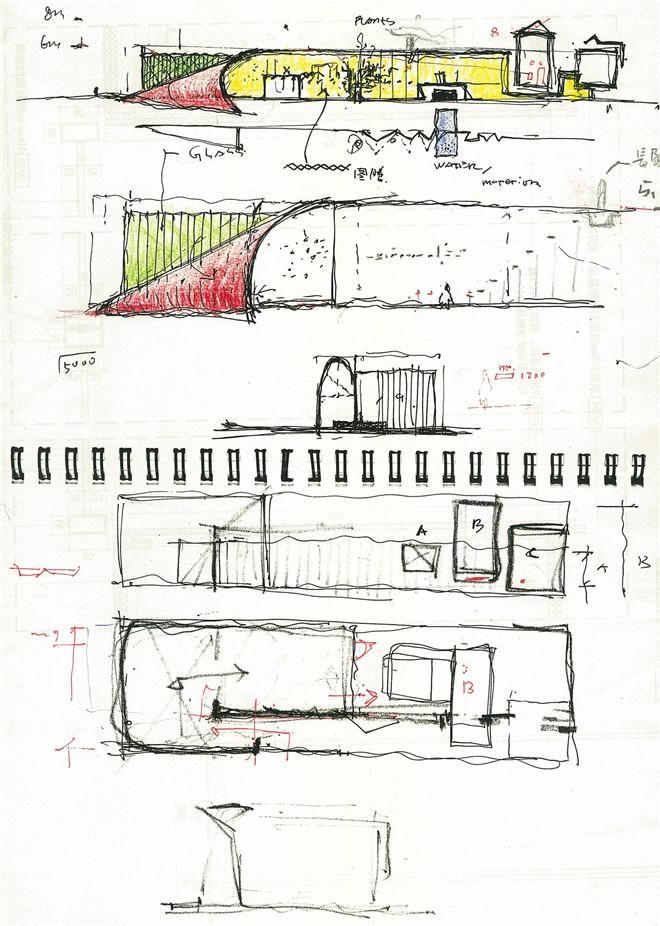 设计师手绘概念图