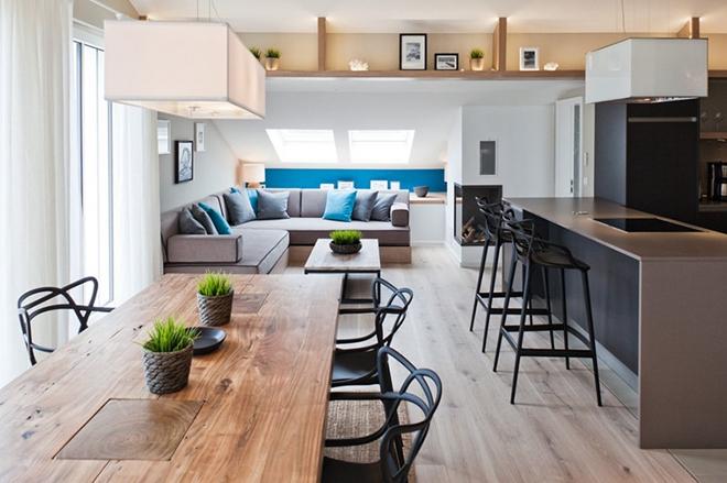 自然清新的德国海洋现代风公寓