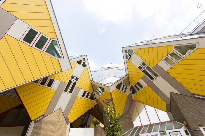 Cubehouse in Center of Rotterdam