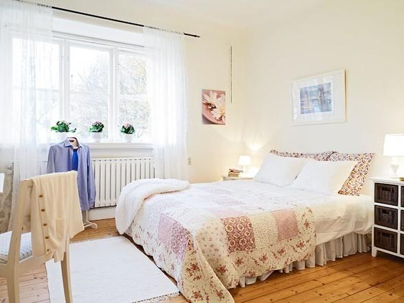 50平方的独特可爱一房一厅公寓家装案例效果图高清图片