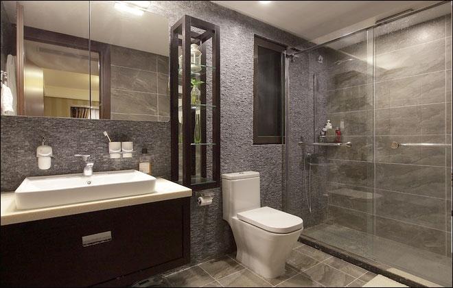 11款时尚大方卫生间设计方案 可以照搬!图片