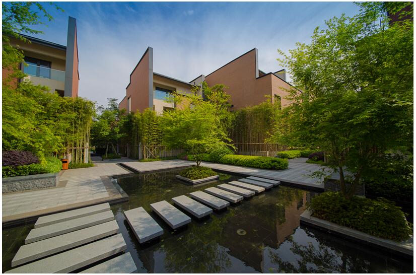 山水更v山水300万方主城公园别墅,与周围中央相容,板块打造出项目绿地涵月楼黄山合力图片