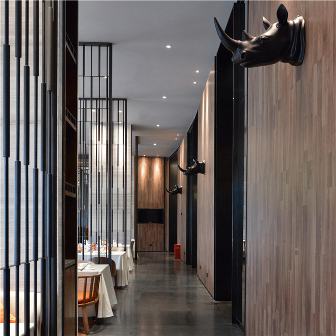 赖旭东设计作品:棕榈岛美丽厨餐厅