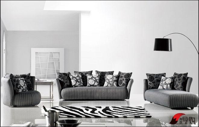 清新到极致 纯色沙发给家居增添小清新