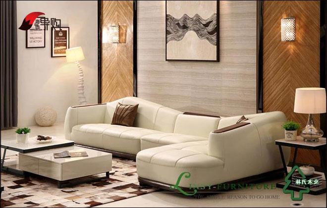 林氏木业沙发 2055