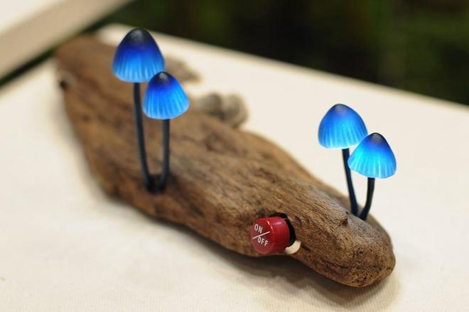 日本设计师Great Mushrooming作品  蘑菇灯
