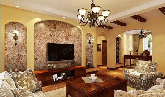 使用立邦米兰诺艺术漆,轻松提升客厅装修格调图片