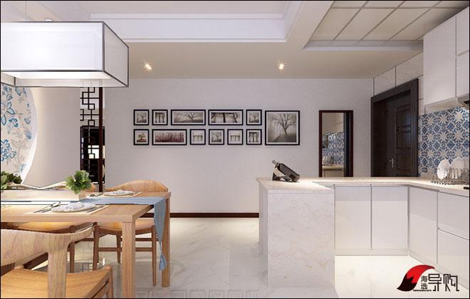 现代时尚美搭中式元素 138平新中式家装图片