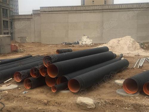 室外排水管采用HDPE管