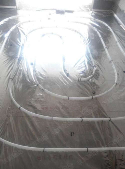 17#楼地暖施工