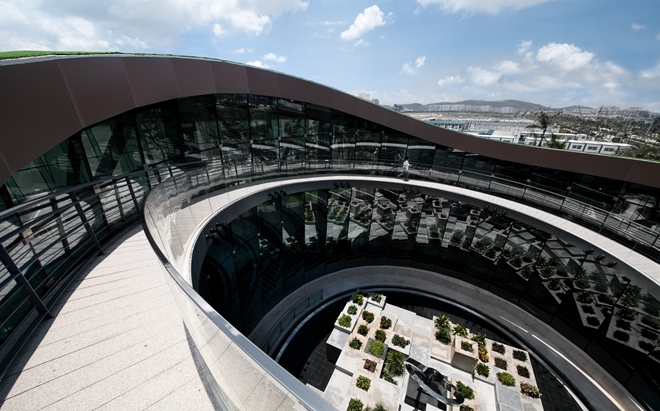 台湾大易国际设计丨莲邦广场艺术中心