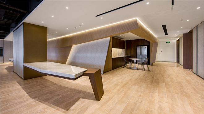D达观达观国际建筑室内设计事务所新办公室