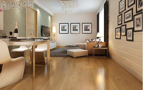 棕色家具搭配地板白色家具棕色地板图片10