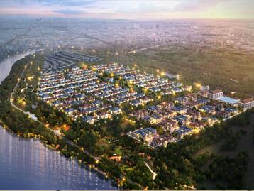 奥北别墅区温榆河畔低容积率美宅