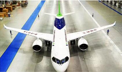 此次能参与国产大飞机c919涂装的建设过程,也标志着秀珀产品和技术