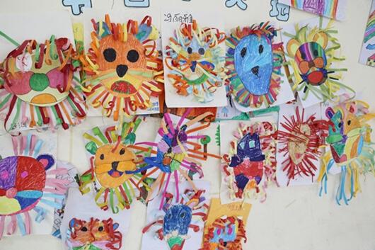 学生美术作品展示