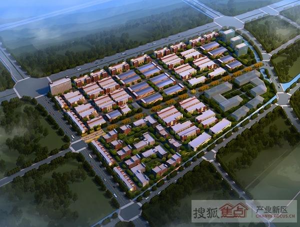 汉富if企业港天府新区新津中小企业园图片