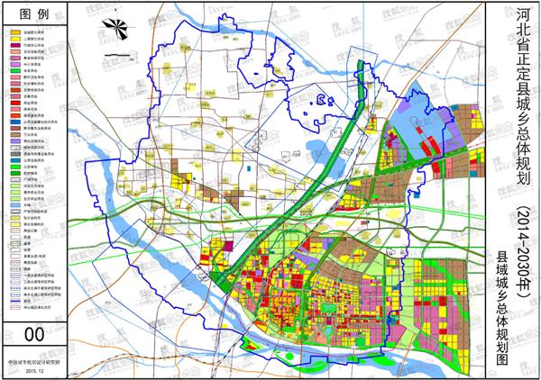 官方公示正定县总体规划 将建36.7万人口新城镇