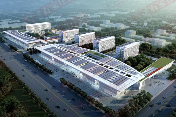 正定新区市人民医院分院效果图