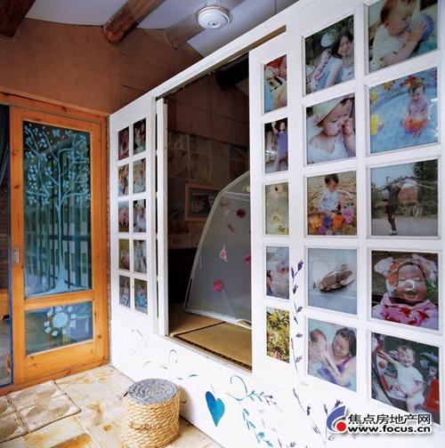 女儿的卧室,公主般的绣花床被帐篷取代