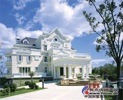 名车豪宅对对碰 法拉力 丽宫高清图片