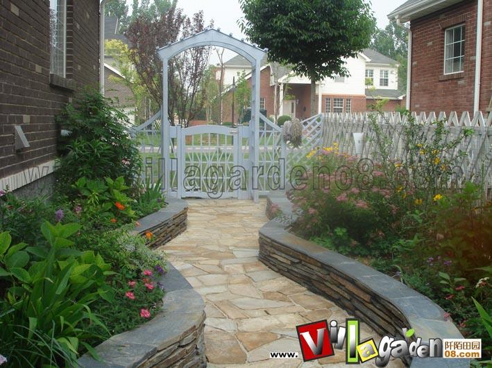 波特兰花园庭院设计实景