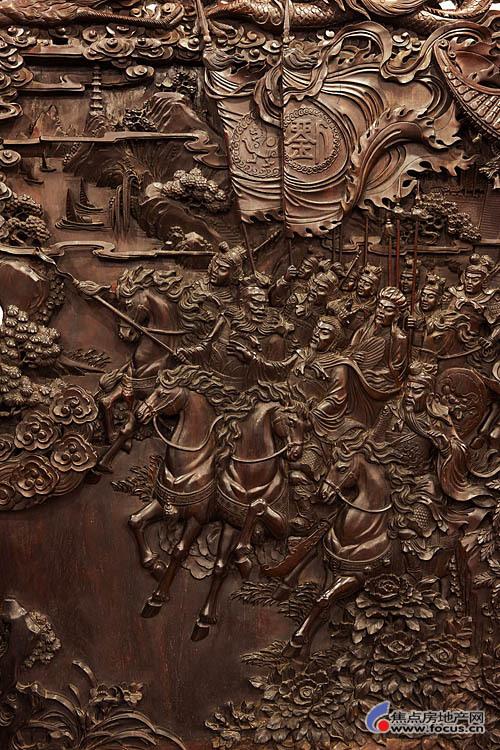 红木雕刻老师傅