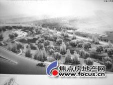 开源广场绿地规划示意图