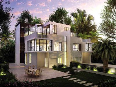 每一栋别墅设计风格都不同,而每栋别墅的设计费都高达百万元.图片