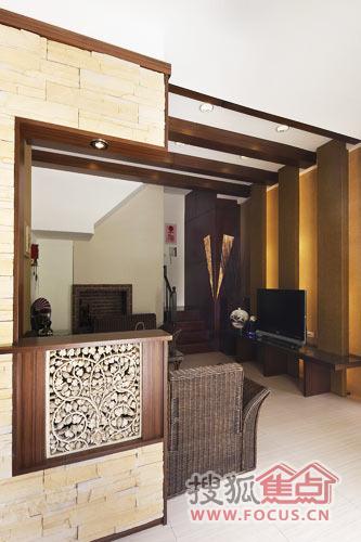 客厅砌砖玄关步骤图片