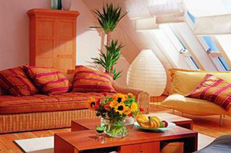 复古情怀 时尚可爱的客厅