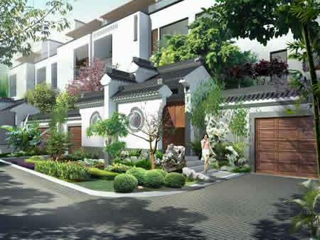 [宝安江南城]大宅门印记的江南城联排别墅