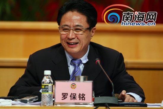 海南省政协五届三次会议第二次全体会议现场(记者 张茂 摄)