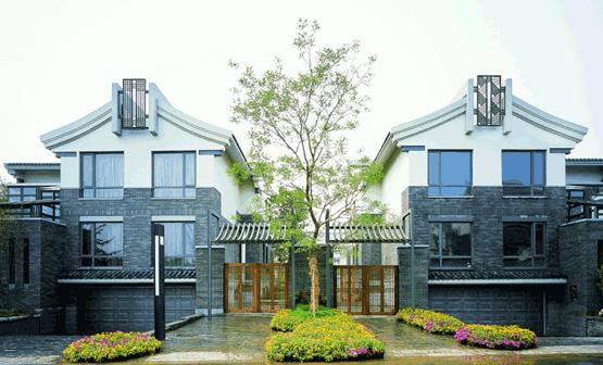 优山美地 现代中式住宅设计图片
